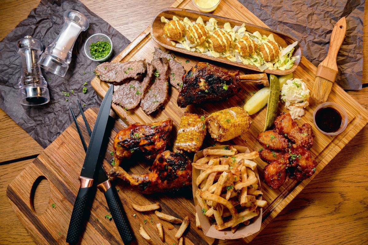 Chainsmoker Food Plate